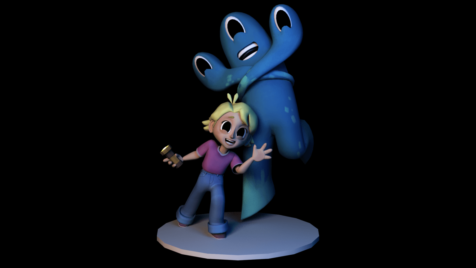 Character model + rigger for 'Unexpected Guest'